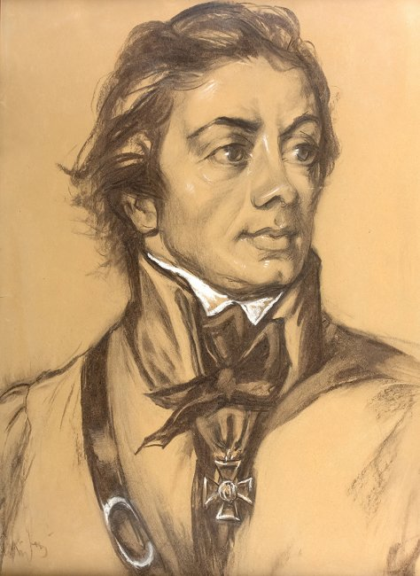 Józef Kidoń   Portret Tadeusza Kościuszki