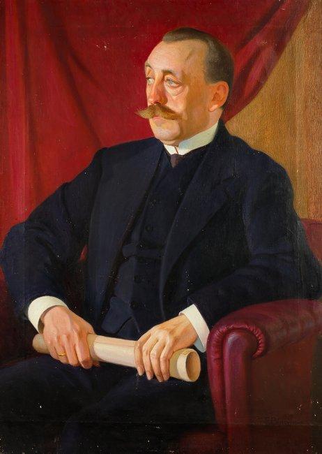 Edward Butrymowicz   Portret Felicjana Otockiego (1870-1931), ok. 1930 r.