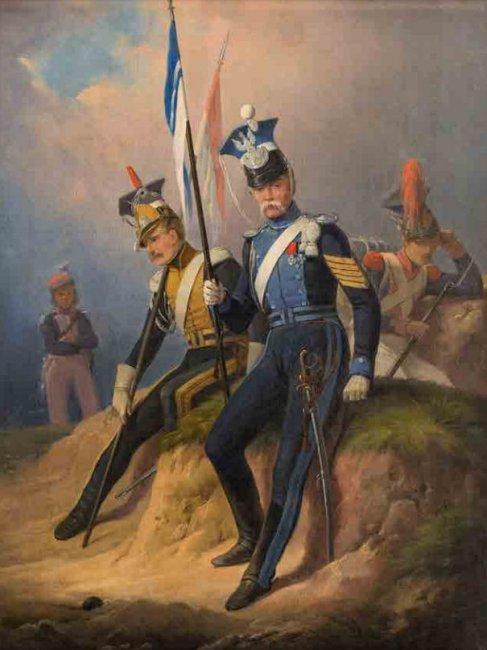 January Suchodolski   Ułani z czasów napoleońskich, 1852