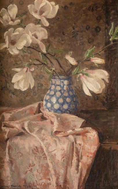 Adam Bunsch   Magnolie w wazonie, 1930 r.