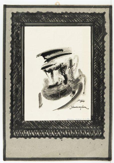 Józef Charyton   Portret Żyda, 1966 r.