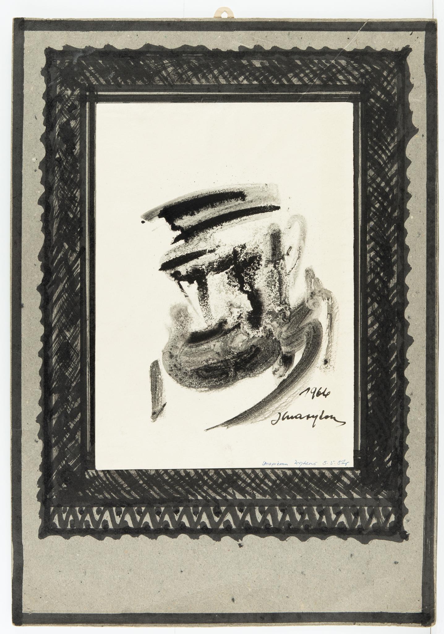 Józef Charyton | Portret Żyda, 1966 r.